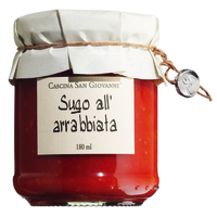 San Giovanni Suga all arrabiata Glas 180g